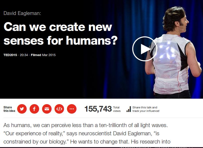 E' possibile acquistare un nuovo senso?