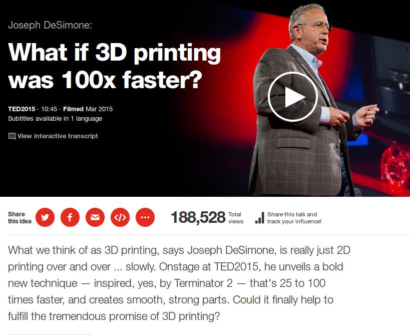 Drammatico miglioramento della stampa 3D