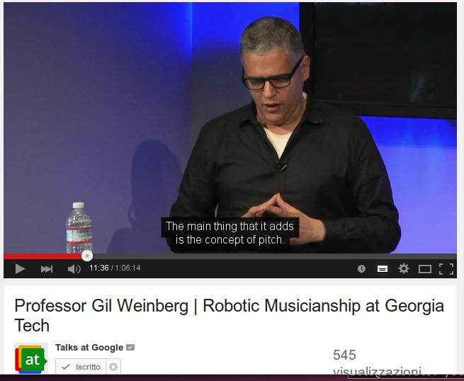 Robotic Musicianship at Georgia Tech