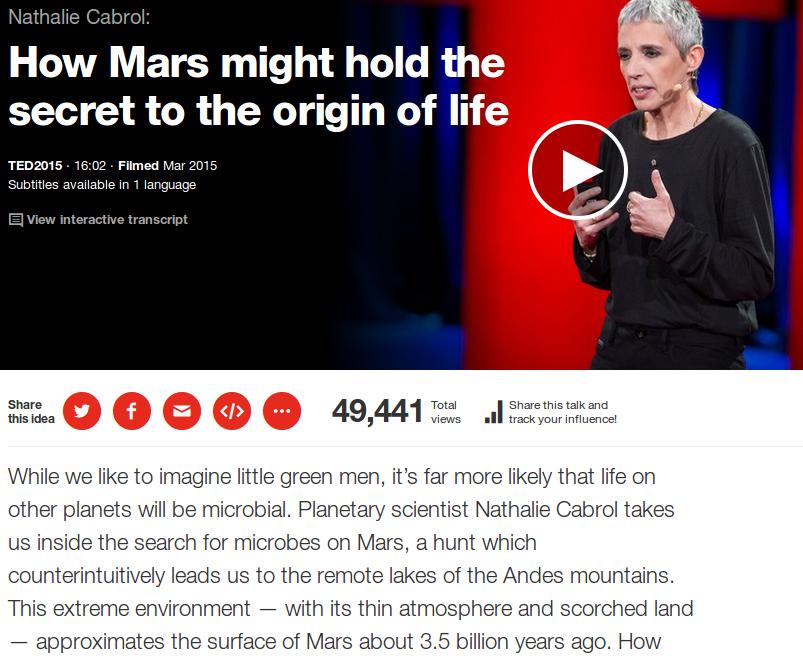 Laghi su Marte