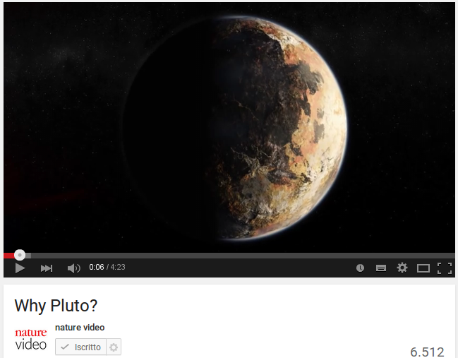 Perche' Plutone?