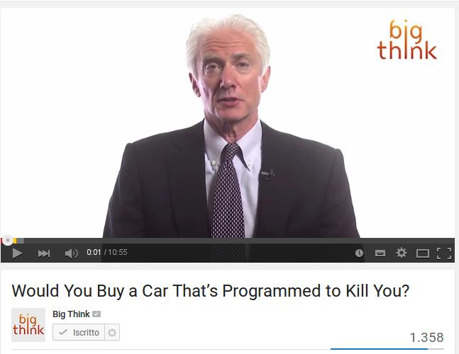 Comprereste una macchina programmata per uccidervi?