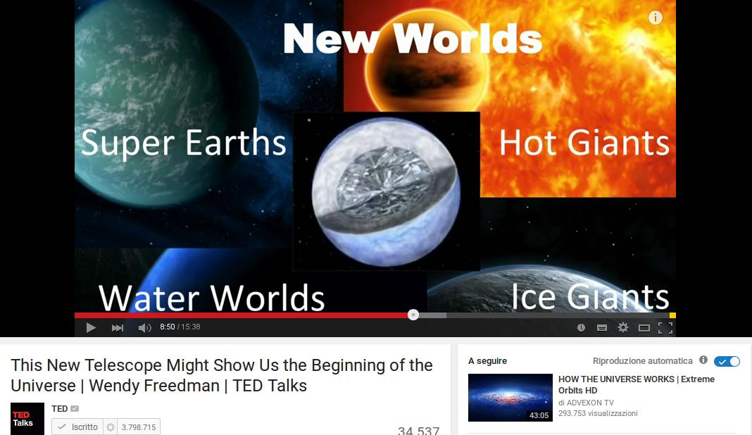 Riuscira' GMT a scoprire se un pianeta extrasolare abitato da esseri viventi?