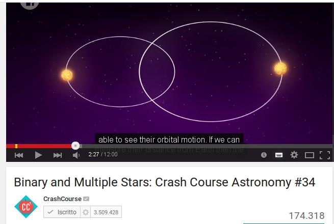 Stelle doppie, ammassi stellari e nebulose