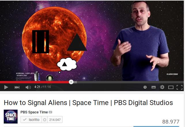 Come segnalare la nostra presenza agli alieni