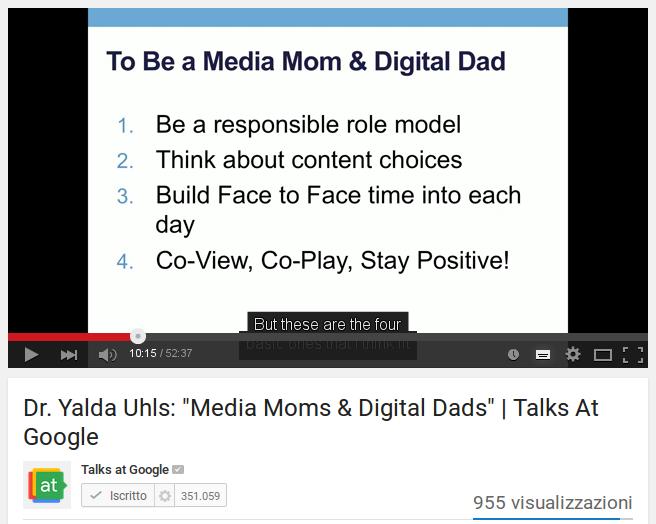 L'effetto dei nuovi mezzi di comunicazione sui bambini