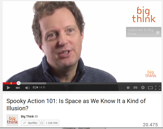 Spooky Action 101: Is Space as We Know It a Kind of Illusion?