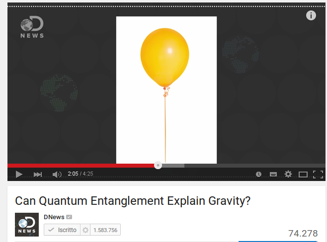Can quantum entanglement explain gravity?
