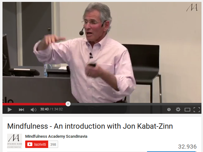 Mindfulness - An introduction with Jon Kabat-Zinn