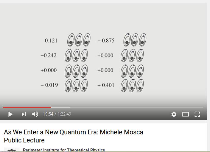 Un computer quantistico fatto da tre qubit