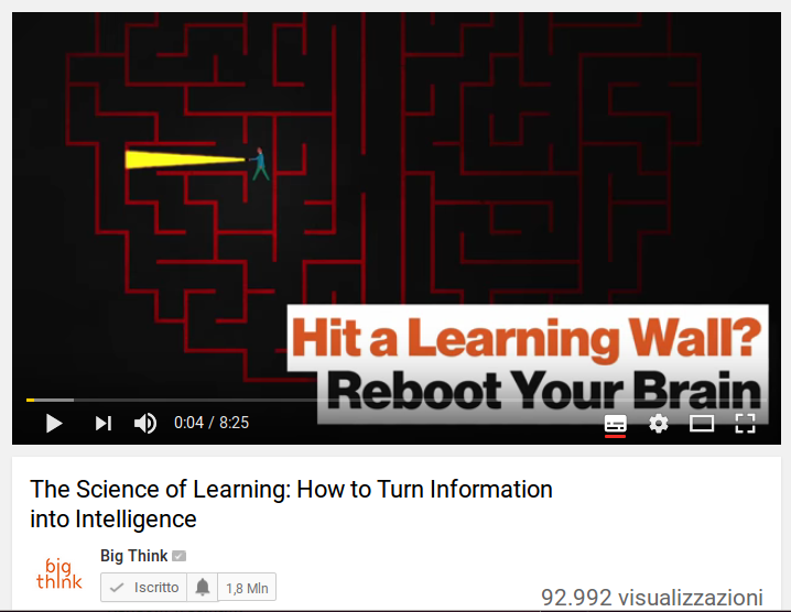 The science of learning: how to turn information into intelligence