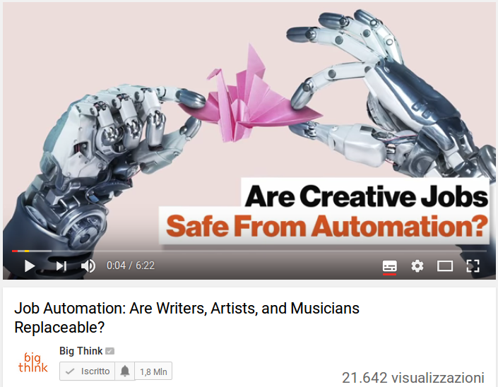 Job Automation: Are Writers, Artists, and Musicians Replaceable?