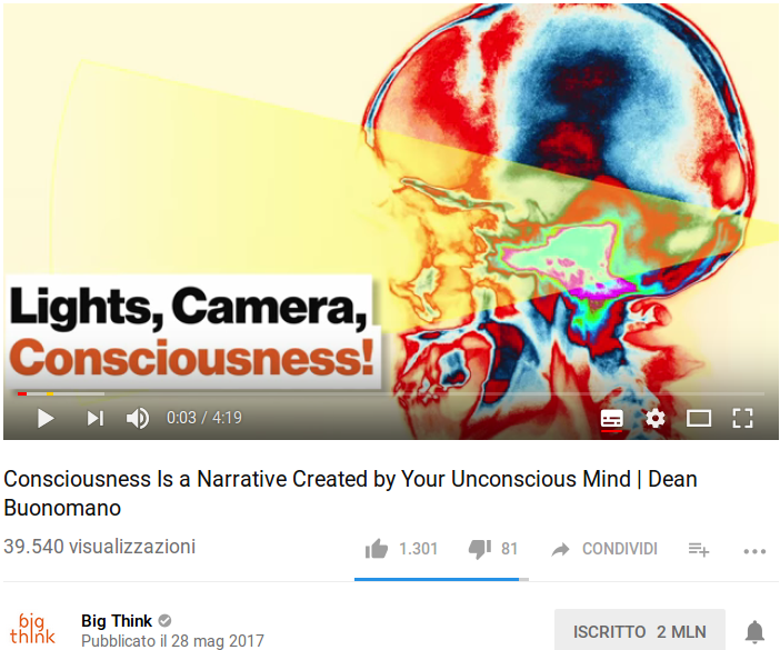 Consciousness Is a Narrative Created by Your Unconscious Mind