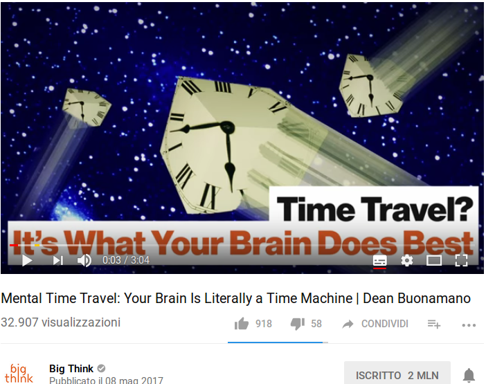 Mental Time Travel: Your Brain Is Literally a Time Machine