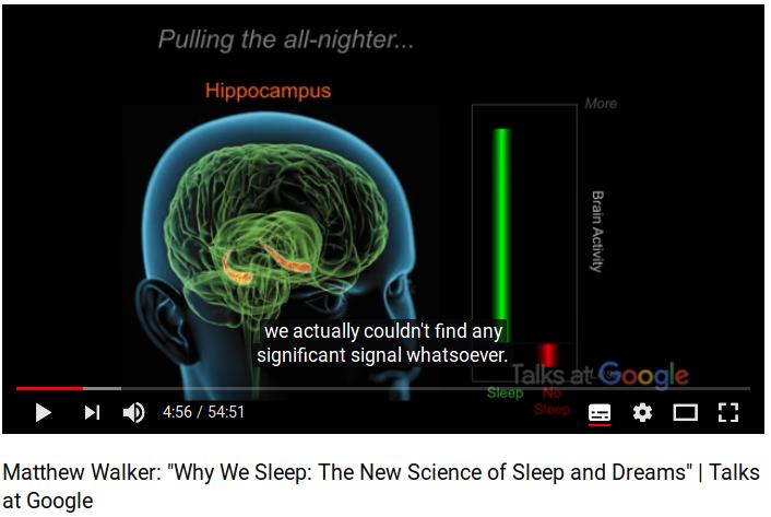 Perche' dormiamo