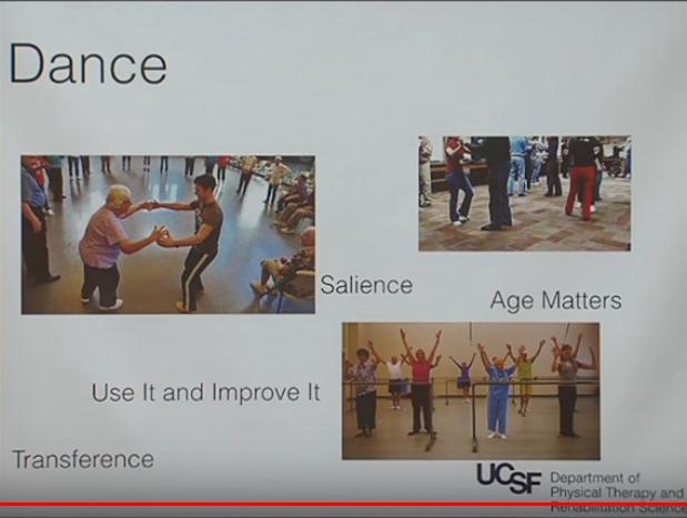 Esercizio fisico nel Parkinson: la danza