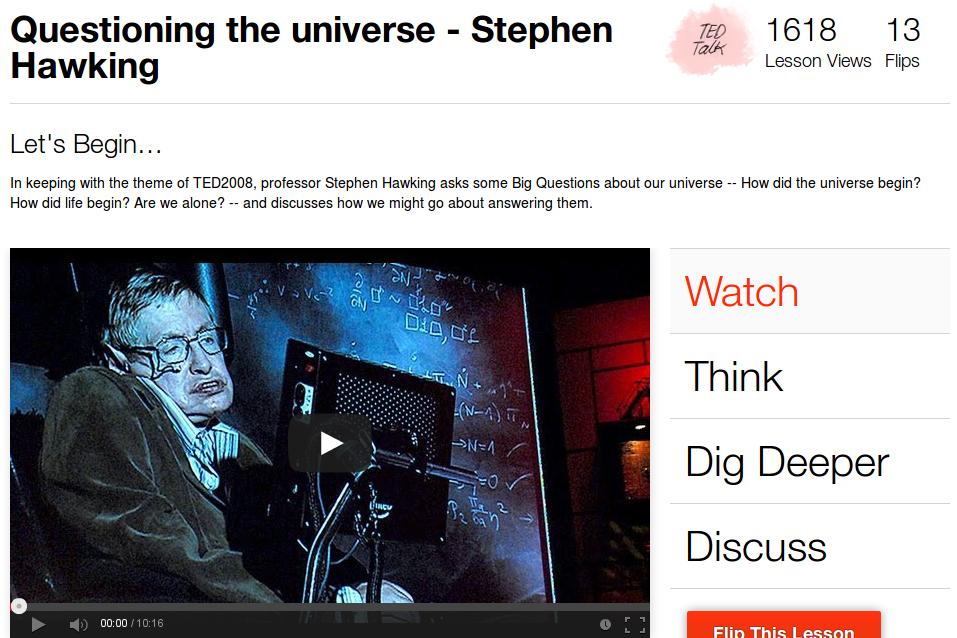 Risposta di Hawking ad alcune domande sull'Universo
