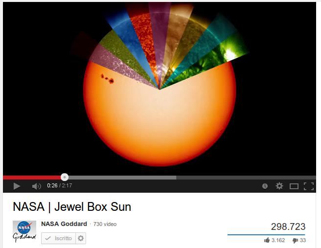 Il Sole come non l'avete mai visto