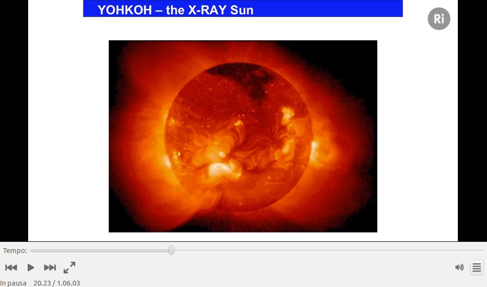 Il sole visto ai raggi X
