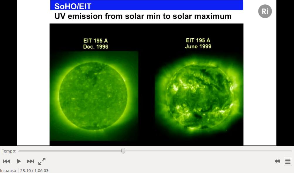 Il Sole fotografato ai raggi ultravioletti