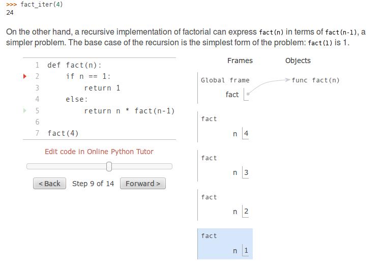 Introduzione alla programmazione con visualizzatore di esecuzione di programmi