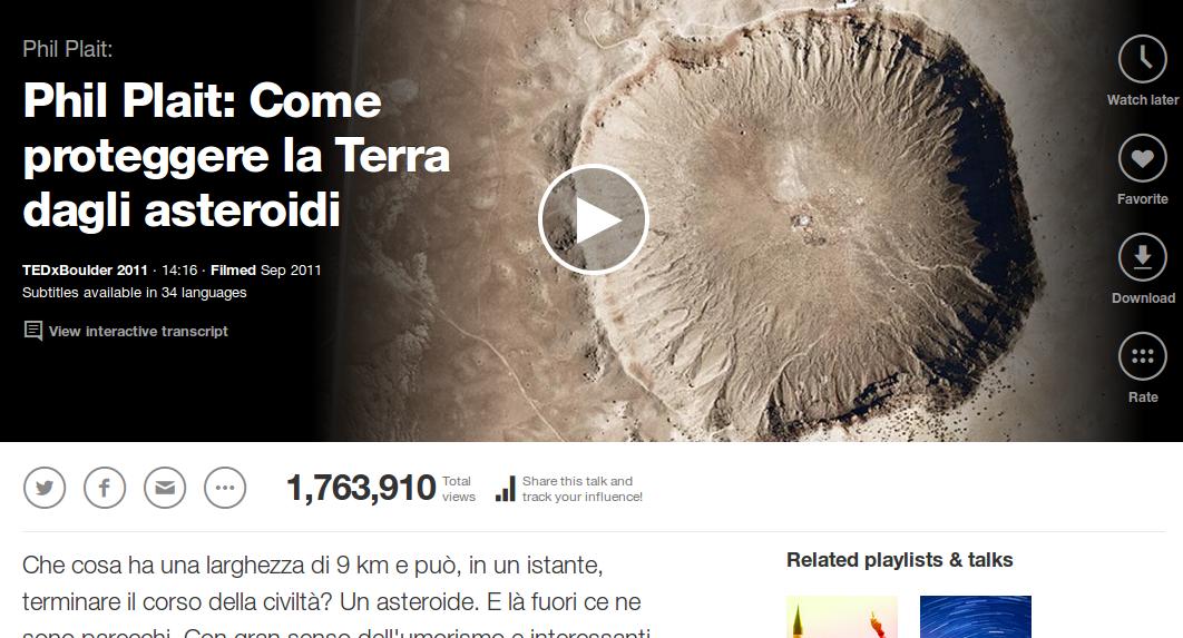 Come proteggere la Terra dagli asteroidi