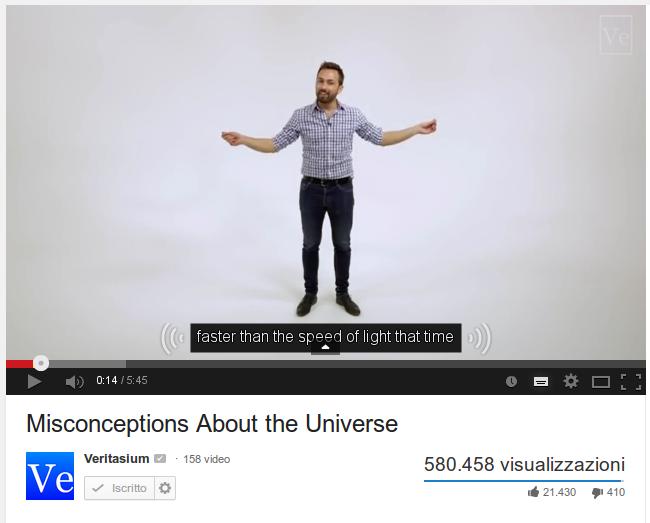 Quant'e' grande l'Universo?
