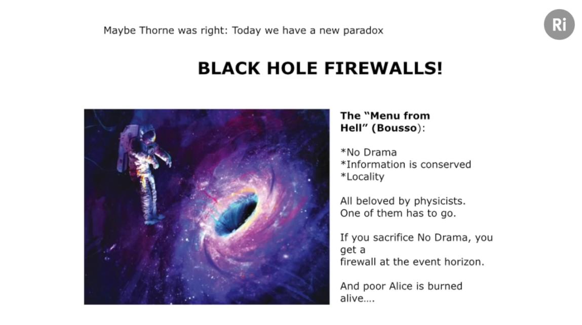Black hole firewalls