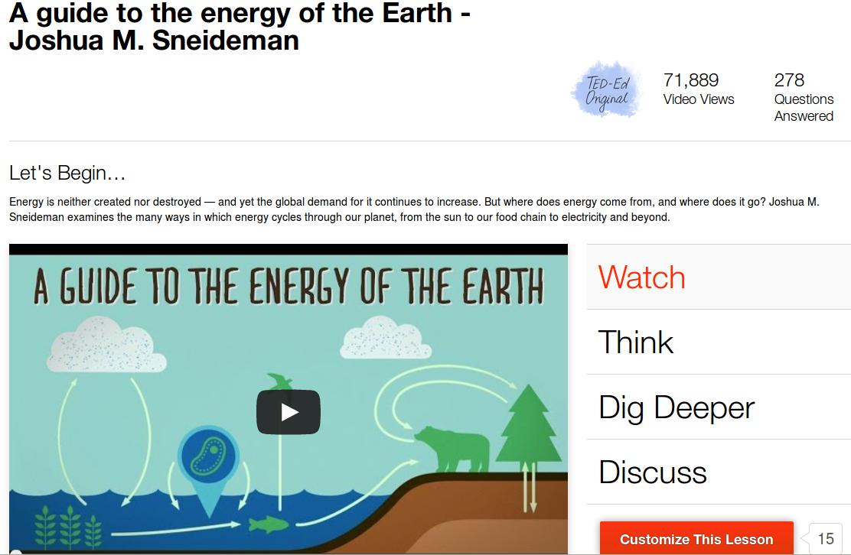 :'Energia sulla Terra