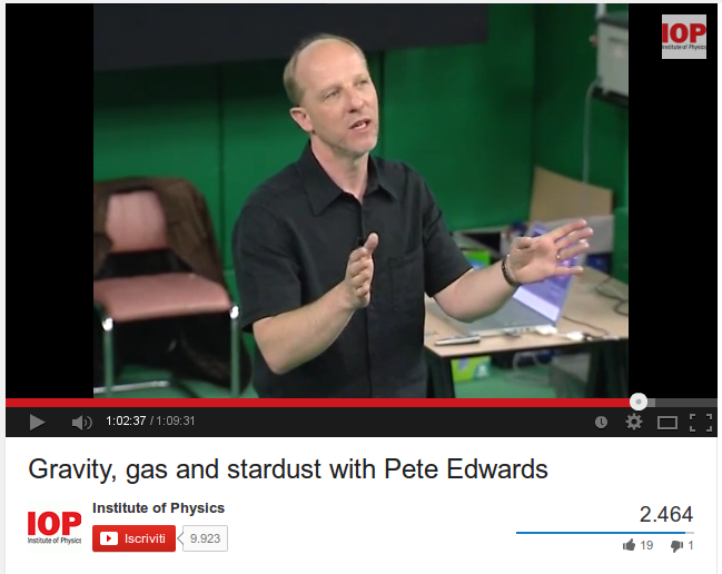 Gravity, gas and stardust