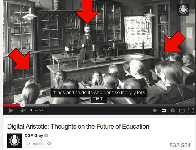 Aristotele digitale: il futuro della scuola