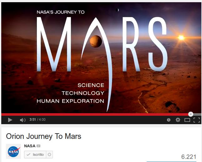 Il cammino verso Marte