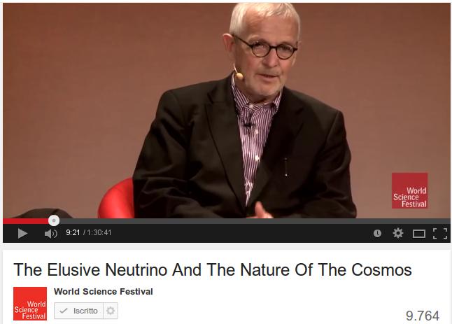 Il neutrino una nuova finestra sul cosmo leonardo - Aprire una nuova finestra ...