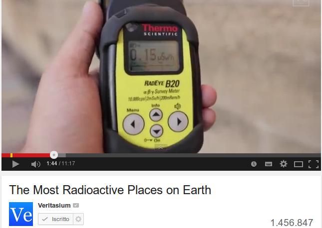 Radioattivo, ma quanto?