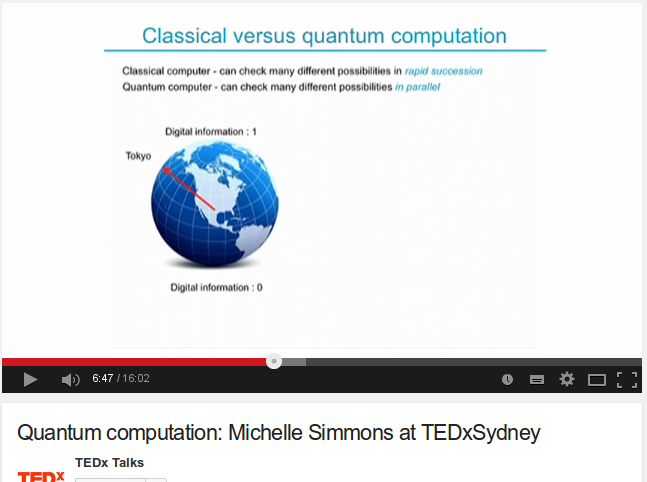 Quantum computation: Michelle Simmons at TEDxSydney