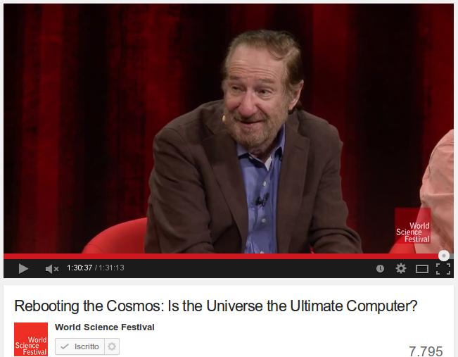 L'Universo come computer