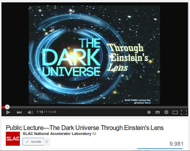 The Dark Universe Through Einstein's Lens