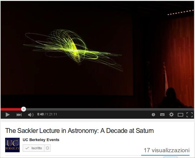 10 anni di esplorazione di Saturno
